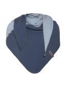 Dreieckstuch Fay von Knit Factory in Jeans/Indigo