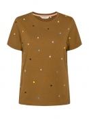 T-Shirt Nucruz von Nümph in Breen