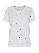 T-Shirt Nucruz von Nümph in BrightWhite