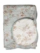 Quilt (Blumen) von Chic Antique