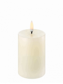 LED Pillar Candle (Ø=5cm) von Uyuni Lighting in Ivory