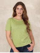 Shirt Heva von Sorgenfri Sylt in Apple