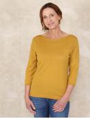 Pullover Annina von Sorgenfri Sylt in GoldenSpice