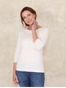 Pullover Annina von Sorgenfri Sylt in Ivory