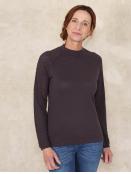 Pullover Aenna von Sorgenfri Sylt in Ebony