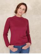 Pullover Aenna von Sorgenfri Sylt in Purple