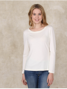 Shirt Mabeli von Sorgenfri Sylt in Ivory
