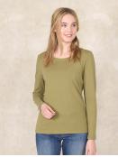 Shirt Mabeli von Sorgenfri Sylt in Fennel