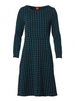 Kleid Truly addicted to Barbara Petrol von Du Milde