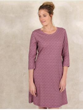 Kleid Malita von Sorgenfri Sylt in Aubergine