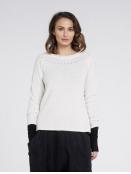 Pullover Stolla von Olars Ulla in White