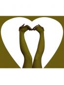Strumpfhose Stromper von Du Milde in KhakiDream
