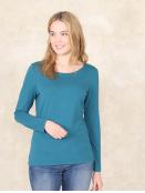 Shirt Mabeli von Sorgenfri Sylt in Lake