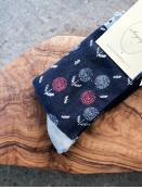 Socken Irma Stamp von Sorgenfri Sylt in Navy