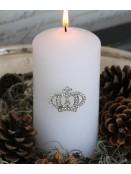 Spieß für Kerzen (Krone) Chic Antique in Silber