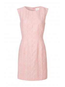 Jacquard-Kleid Holinis von InWear in Rosa