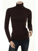Rollkragen T-Shirt Bafrida von Part-Two in dark brown
