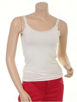 Basic Top 1-6235-1 von Noa Noa in chalk