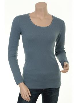 Baumwoll T-Shirt Malin von Sorgenfri Sylt in Stormy