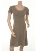 Kleid Dinka von Sorgenfri Sylt in Mink