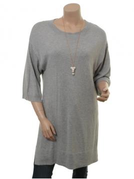 Kleid Celest von Part-Two in Light Grey