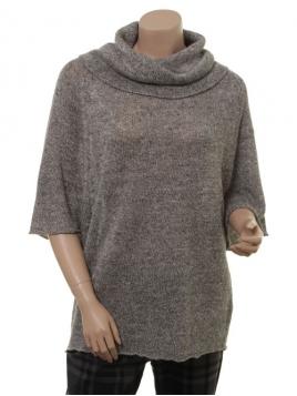 Pullover Constance von Part-Two in dark natural melanche