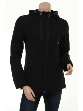 Regenjacke Trek01 von Ilse Jacobsen in Black