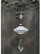 """Kristallhänger """"Diamant"""" von Chic Antique"""