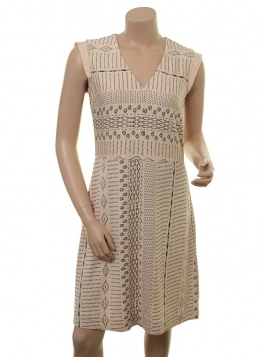 Kleid 1-6426-1 von Noa Noa in Print-Nude