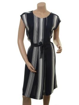 Kleid Doanna von Part-Two in Artwork Dark Blue