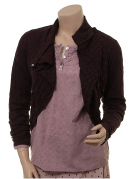 Blouse 4954-66 von Nü Denmark in Dark Plum