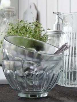 Glasschale von Ib Laursen in Glas