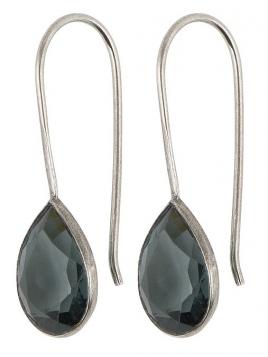 Ohrring (Hänger) von Ib Laursen in blau