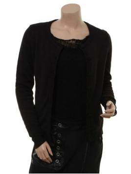 Strickjacke Picadilly von Margot in Black
