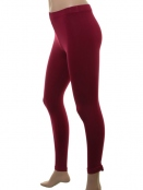Leggings Antje von Sorgenfri Sylt in Cranberry