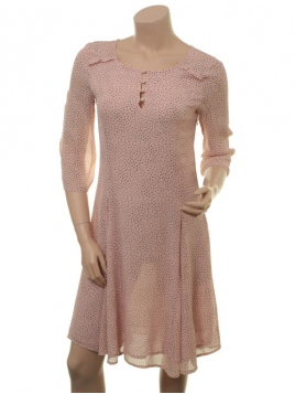 Kleid Garbo von Part-Two in Artwork Light Pink