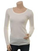 Langarm T-Shirt 1-6286-4 von Noa Noa in Cloud Dancer