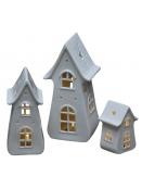 Keramikhaus (klein) von Chic Antique in weiss