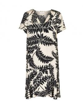 Kleid Hialeah von Part-Two in Artwork Black