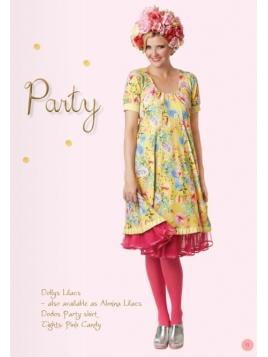 Blumen-Kleid Dollys Lillacs von Du Milde