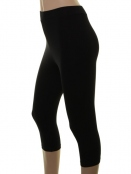 Kurze Leggings von Du Milde in black