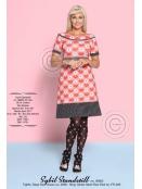 Kleid Sybil Standstill von Margot in rot