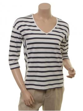 Langarm T-Shirt 1-7140-1 von Noa Noa in Art White