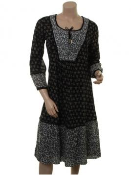 Kleid 1-7203-1 von Noa Noa in print black