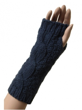 Kaschmir-Gloves Ebba von Sorgenfri Sylt in Midnight