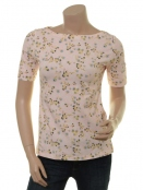 Kurzarm T-Shirt Flourish Aglow von Endless Moda Denmark