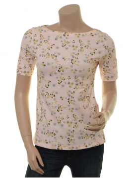 Kurzarm T-Shirt Flourish Aglow von Endless Moda Denmark