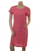 Leinen-Kleid Aundreas von Part-Two in Rapture Rose