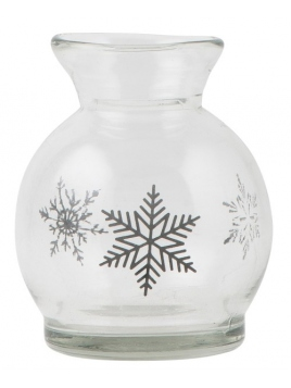 """Vase """"Schneekristalle"""" von Ib Laursen"""