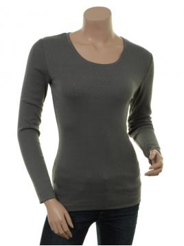 Langarm T-Shirt Malin (27-045-209) von Sorgenfri Sylt in Salbei